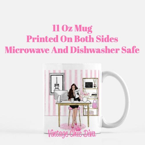 Girl Boss Pink Set7 Coffee Mug-