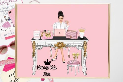 Girl Boss Set3 Pink Background-