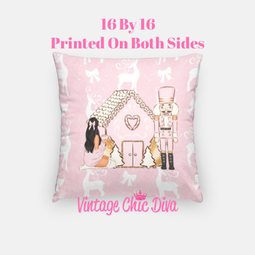 Girly Christmas Set24 Pillow Case-