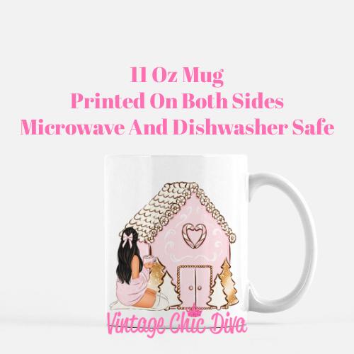 Girly Christmas Set4 Coffee Mug-