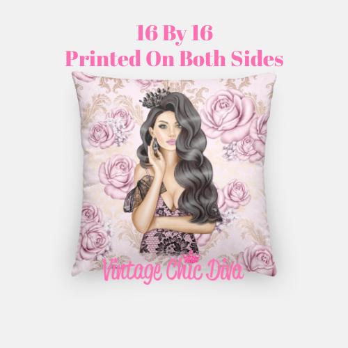 Glam Girl1 Pillow Case-
