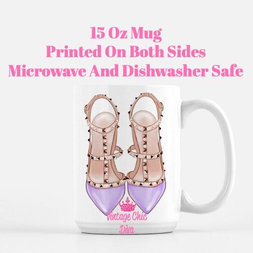 Glam Heels11 Coffee Mug-