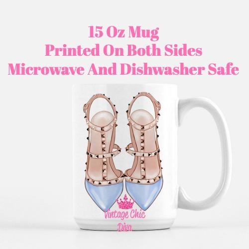 Glam Heels12 Coffee Mug-