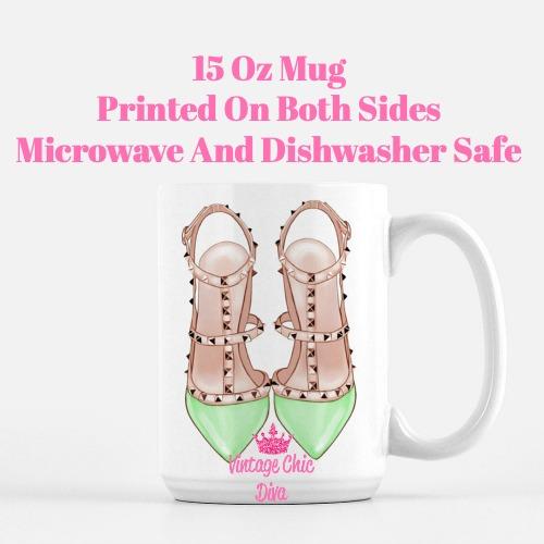Glam Heels13 Coffee Mug-