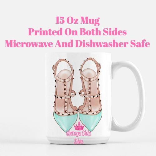 Glam Heels14 Coffee Mug-