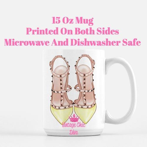 Glam Heels15 Coffee Mug-