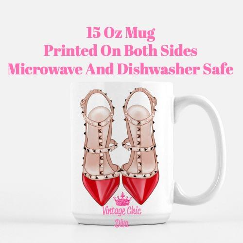 Glam Heels1 Coffee Mug-