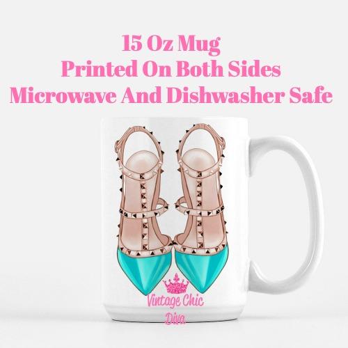 Glam Heels2 Coffee Mug-