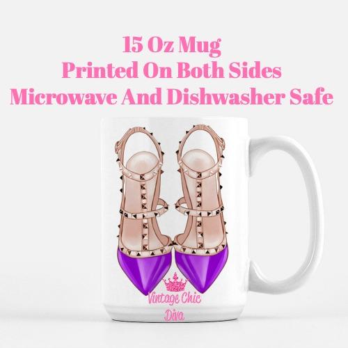 Glam Heels3 Coffee Mug-