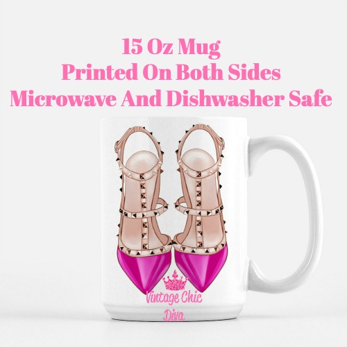 Glam Heels4 Coffee Mug-