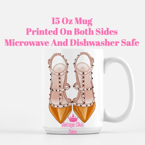 Glam Heels5 Coffee Mug-