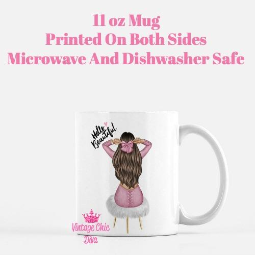 Hello Beautiful2 Coffee Mug-