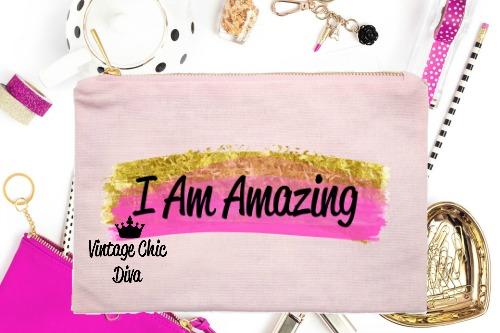 I Am Amazing1 Pink-