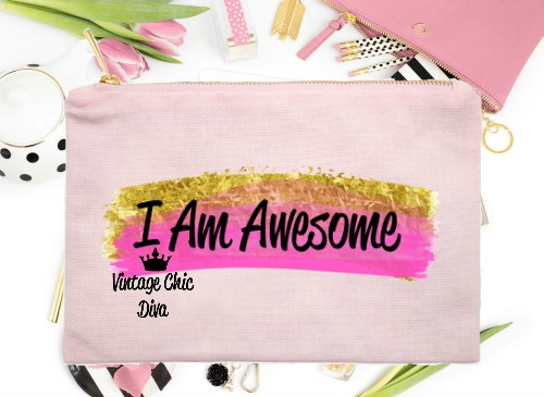 I Am Awesome1 Pink-