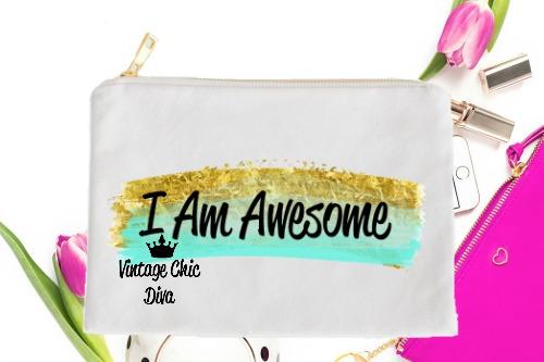 I Am Awesome3 White-