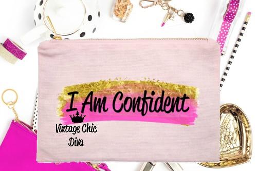 I Am Confident1 Pink-