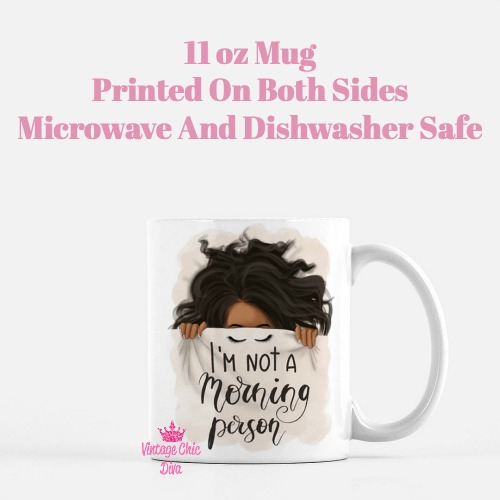 I'm Not A Morning Person5 Coffee Mug-