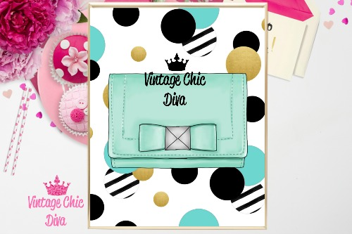 Kate Spade Purse10 Confetti Background-