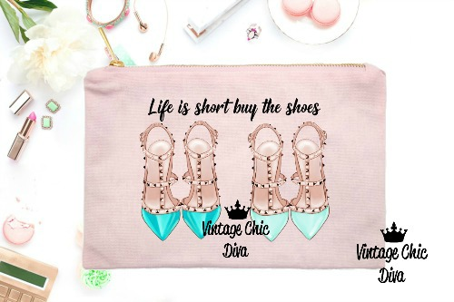 Life Is Short Buy The Shoes2 Pink-