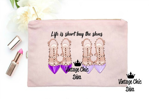 Life Is Short Buy The Shoes3 Pink-