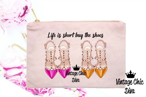 Life Is Short Buy The Shoes4 Pink-