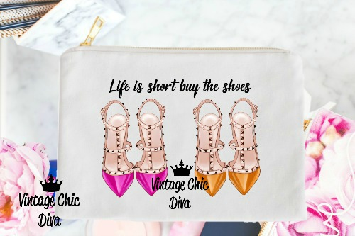 Life Is Short Buy The Shoes4 White-