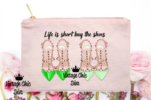 Life Is Short Buy The Shoes5 Pink-