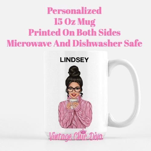 Custom Coffee Mug Lindsey-