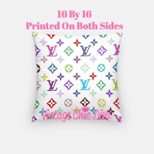 Louis Vuitton Design12 Pillow Case-