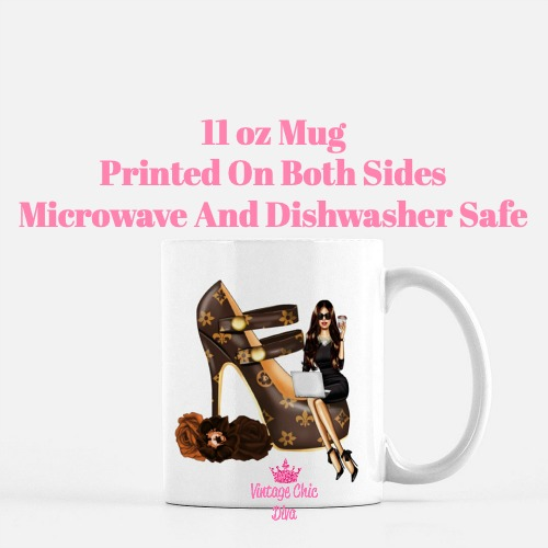 Louis Vuitton Girl10 Coffee Mug-