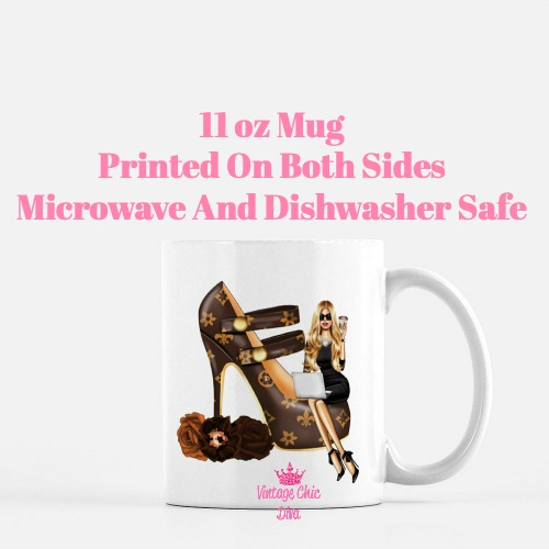 Louis Vuitton Girl11 Coffee Mug-