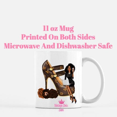 Louis Vuitton Girl12 Coffee Mug-
