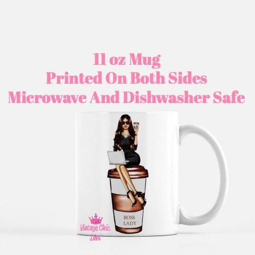 Louis Vuitton Girl13 Coffee Mug-