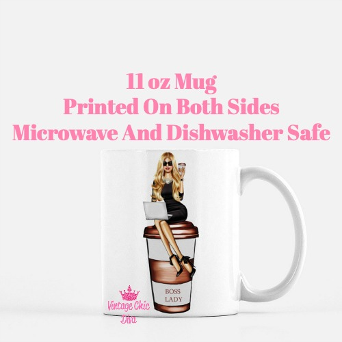 Louis Vuitton Girl14 Coffee Mug-