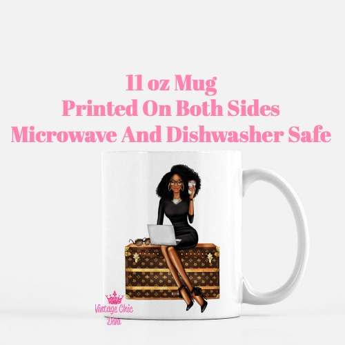 Louis Vuitton Girl9 Coffee Mug-