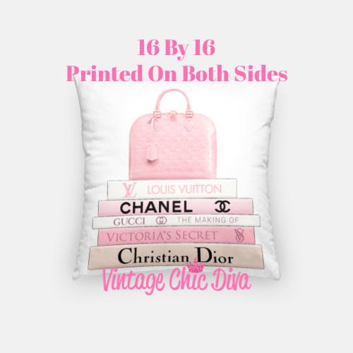 Louis Vuitton Handbag1 Pillow Case-