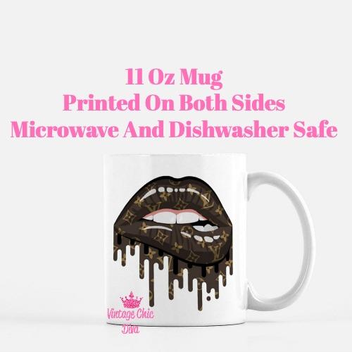 Louis Vuitton Lips2 Coffee Mug-