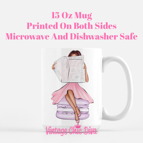 Macaron Girl3 Coffee Mug-