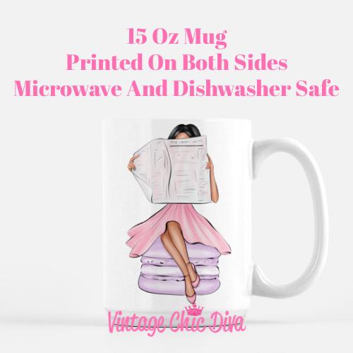 Macaron Girl4 Coffee Mug-