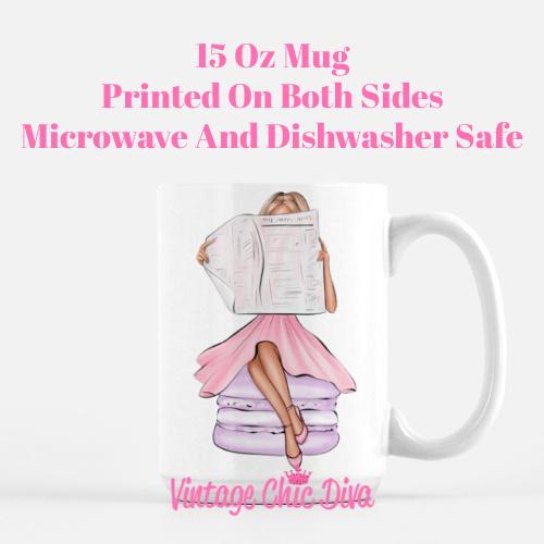 Macaron Girl5 Coffee Mug-