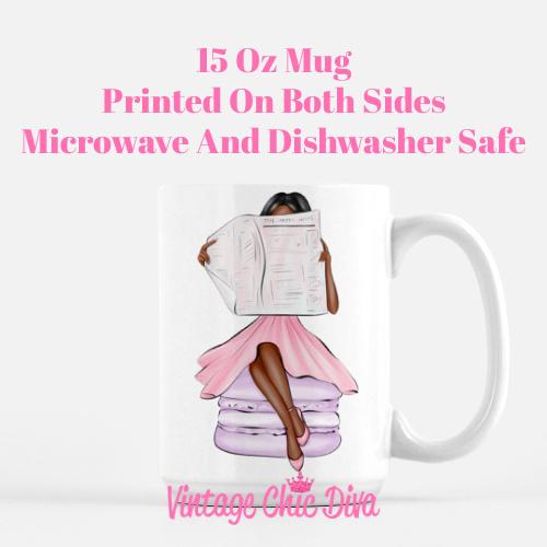 Macaron Girl6 Coffee Mug-