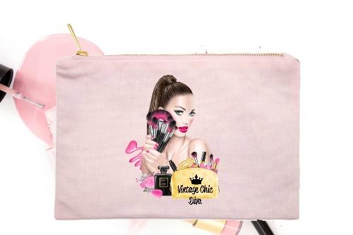 Makeup Girl Pink-
