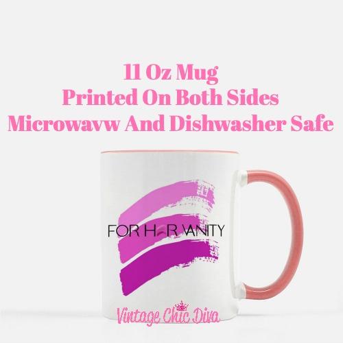Custom Coffee Mug For Her Vanity-
