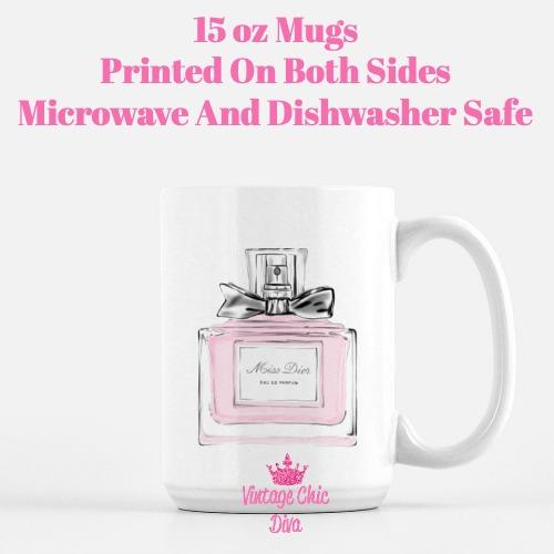 Miss Dior Coffee Mug-