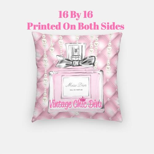 Miss Dior Perfume5 Pillow Case-