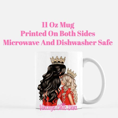 Mom Daughter Set11 Coffee Mug-