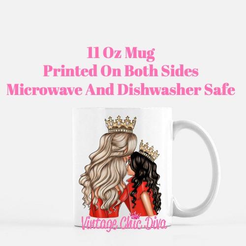 Mom Daughter Set13 Coffee Mug-