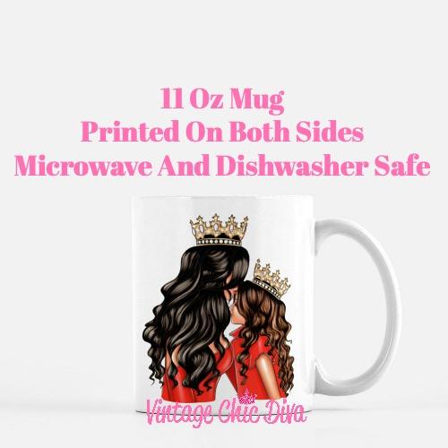 Mom Daughter Set15 Coffee Mug-