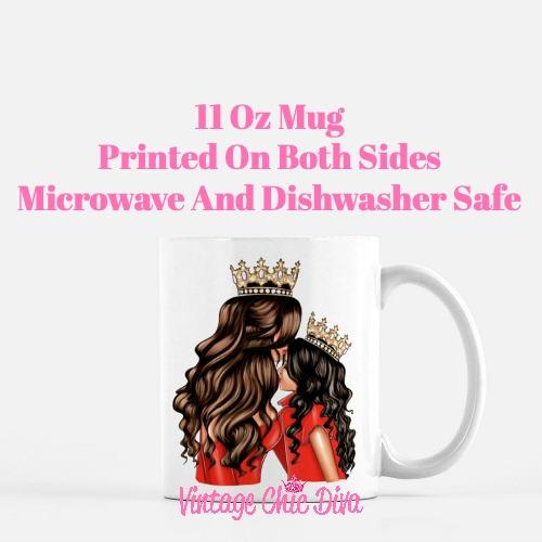 Mom Daughter Set17 Coffee Mug-