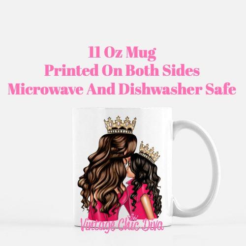 Mom Daughter Set18 Coffee Mug-